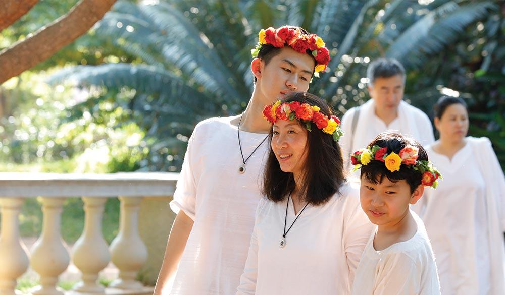 Flower Family Sri Vast Center