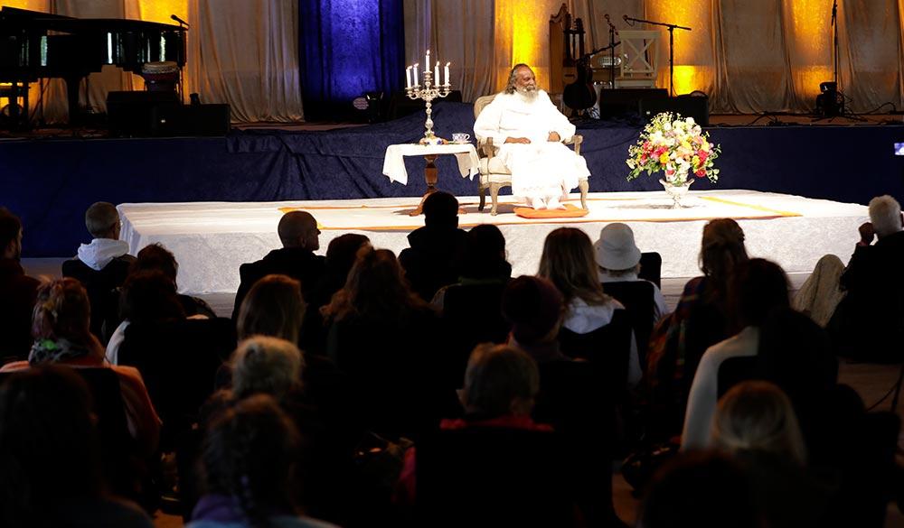 Satsang at Yoga Mela Sweden