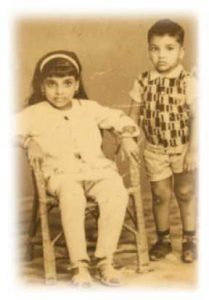 childhood photo of guruji sri vast