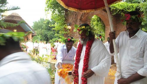 Guruji respecting