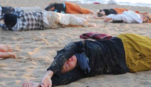 feel the sand