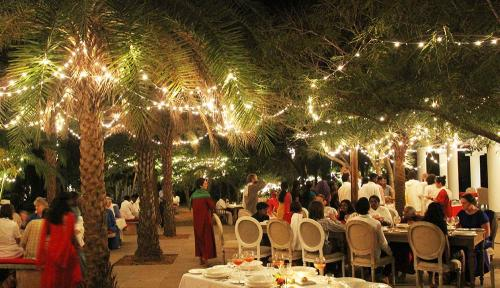 night dinner at srivast center in india