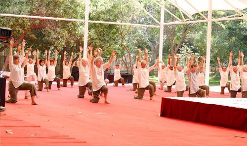 srivast ashram yoga practice